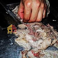 白切羊头肉的做法图解4