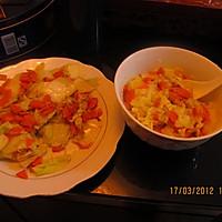 胡萝卜鸡蛋土豆泥的做法图解4
