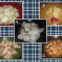 冬瓜烧肉的做法图解1