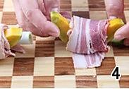烤培根南瓜卷的做法图解4