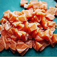 挪威三文鱼乳酪蛋的做法图解2