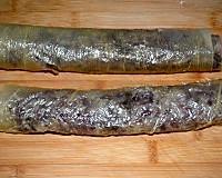 腐皮糯米豆沙卷的做法图解7