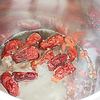 大枣银耳红豆薏仁米糊的做法图解2