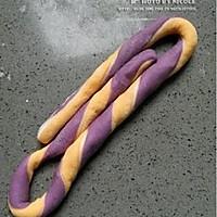 双薯彩虹绳索包的做法图解7
