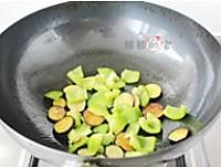 蚝油青椒茄子的做法图解5