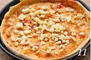 海陆鲜汇披萨的做法图解11