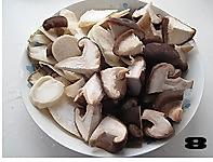 菌菇烩驼筋的做法图解8
