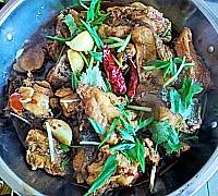 干锅香辣鱼块的做法图解17