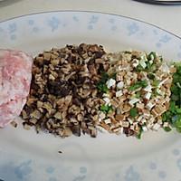 健康美食·玉米面肉包子的做法图解1
