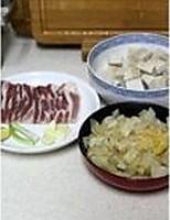 酸菜白肉豆腐煲的做法图解1
