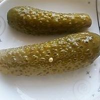 酸黄瓜寿司的做法图解1