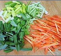 蔬菜煎饼的做法图解2