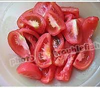 土豆番茄红萝卜焗鸡肉的做法图解2