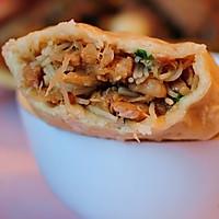 雁荡山著名小吃---麦油煎(卷筒煎饼)的做法的做法图解8