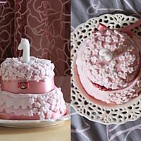 迷你翻糖蛋糕的做法图解2