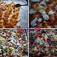 培根匹萨的做法图解5