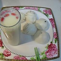 红枣枸杞花生豆奶的做法图解5