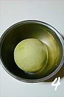 抹茶红豆包的做法图解4