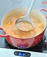 西红柿鸡蛋疙瘩汤的做法图解10