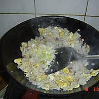 香肠鸡蛋炒饭的做法图解6