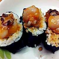 章鱼肉松寿司的做法图解4
