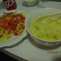 胡萝卜鸡蛋土豆泥的做法图解3