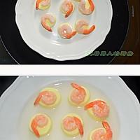 日本豆腐蒸虾仁的做法图解3