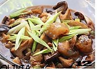 菌菇烩驼筋的做法图解12