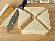 鸡蛋三明治的做法图解4