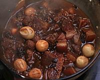 鹌鹑蛋红烧肉的做法图解10