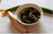 大骨蘑菇丝瓜汤的做法图解4