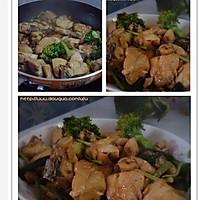 素炒鸡肉的做法图解3