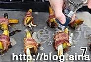 烤培根南瓜卷的做法图解7