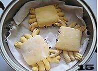 螃蟹南瓜包的做法图解15