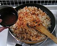 辣白菜炒饭的做法图解6