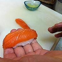 三文鱼寿司的做法图解13