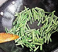 干香开胃-干煸豆角的做法图解3
