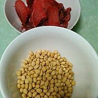 黄豆焖牛肉的做法图解1