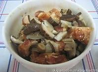 香菇糯米蒸排骨的做法图解2