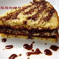 香草巧克力夹心蛋糕的做法图解12