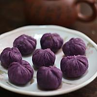 下午茶小点心(一):紫薯绞巾的做法图解6