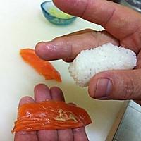 三文鱼寿司的做法图解10