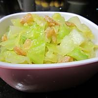 虾米卷心菜的做法图解7