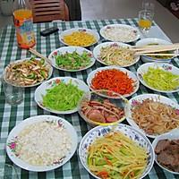 雁荡山著名小吃---麦油煎(卷筒煎饼)的做法的做法图解5