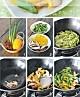 夏日的清新爽口:鲜菇芦笋小炒的做法图解3