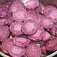 下午茶小点心(一):紫薯绞巾的做法图解2