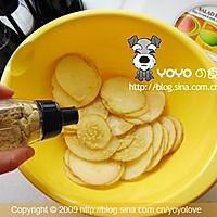 自制无油薯片的做法图解2