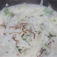 顶汤牦牛萝卜丝的做法图解7