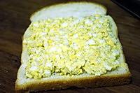 鸡蛋三明治的做法图解3
