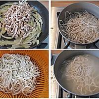 榨菜肉丝面的做法图解3